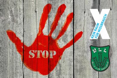 STOP - Kein Raum für Missbrauch bei der WLL
