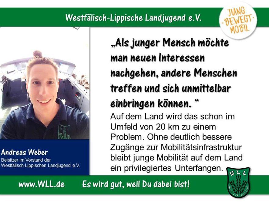 (Bild: WLL) Freiräume schaffen! Jugendgerechter Ausbau des ÖPNV in NRW!