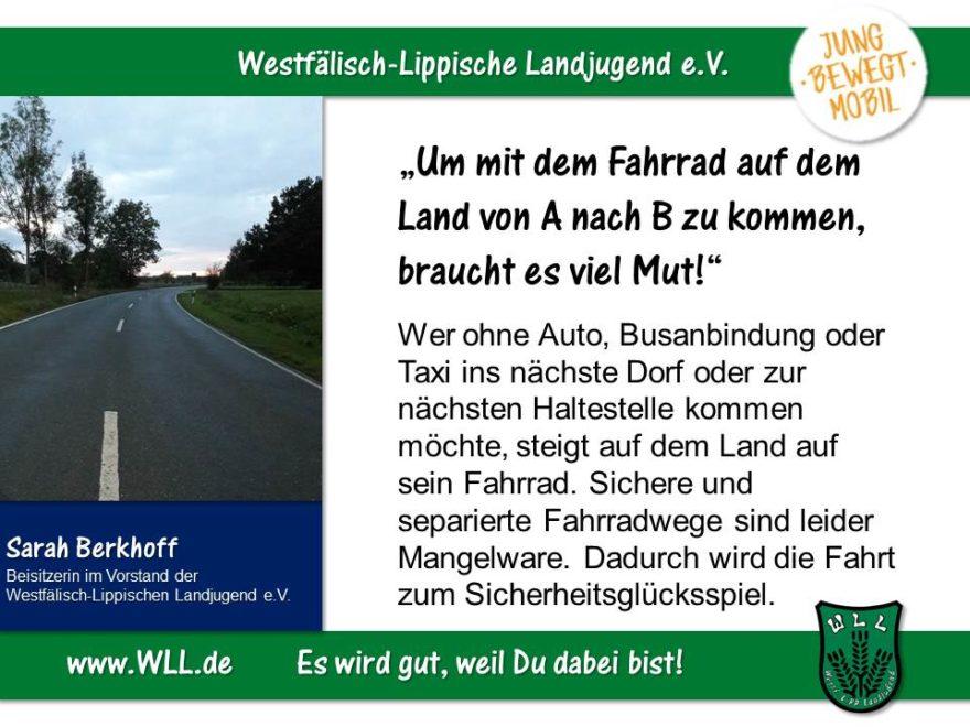 (Bild: WLL) Sicherheit statt Glücksspiel! Jugendgerechter Ausbau der mobilen Infrastruktur in NRW!