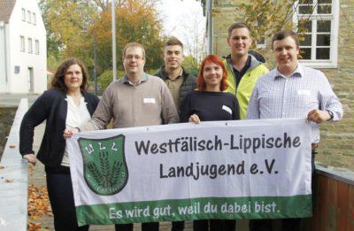 v.l.n.r.: Sarah Berkhoff, Frank Maletz, Sebastian Stens, Franziska Trepte, Lennart Krüner, Stefan Schmidt (Foto: WLL/Welpelo)