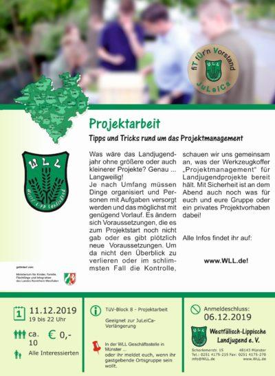 TüV I, Projektarbeit 2019, 11.12.2019
