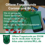 (Flyer: WLL) Offene Sprechstunde: Corona und WLL