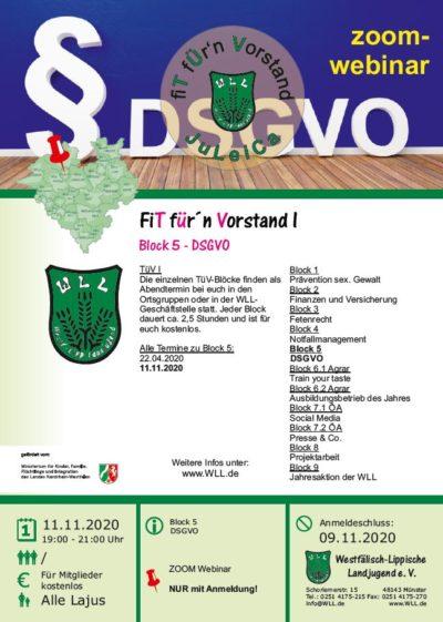 2020-11-11 TüV I - DSGVO