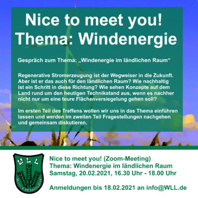 #ntmy! Thema: Windenergie