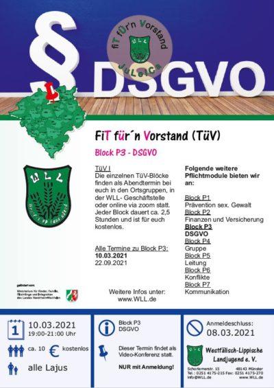 TüV DSGVO am 10.03.2021