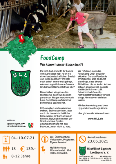 Flyer FoodCamp 2021 MF