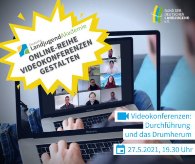 (BIld: BDL/C. Gräschke) Videokonferenzen: Durchführung und das Drumherum