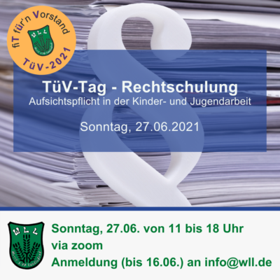 TüV-Tag Rechtschulung