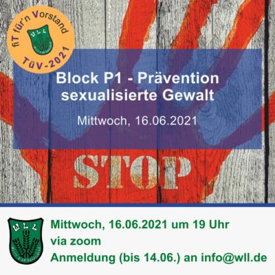 TüV Prävention sex. Gewalt