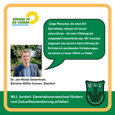 Kommentar Dr. Jan-Niclas Gesenhues