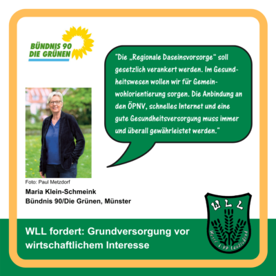 Kommentar Maria Klein-Schmeink