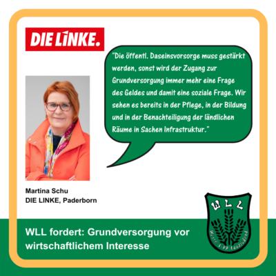 Kommentar Martina Schu