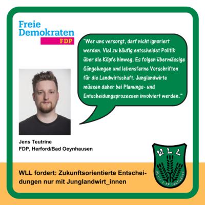 Kommentar Jens Teutrine