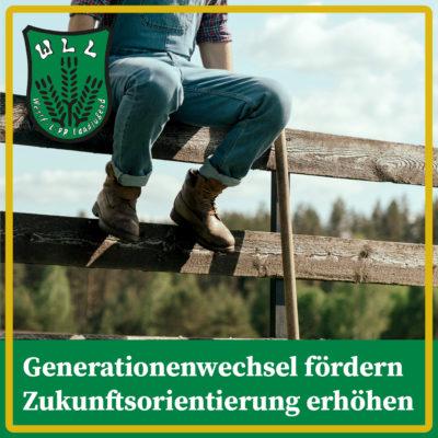 Generationenwechsel fördern und Zukunftsorientierung erhöhen