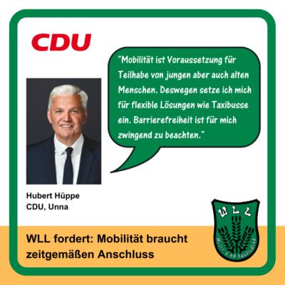 Kommentar Hubert Hüppe