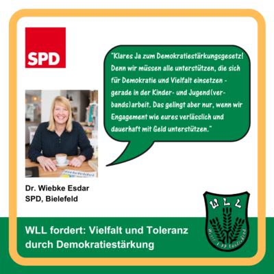 Kommentar Dr. Wiebke Esdar