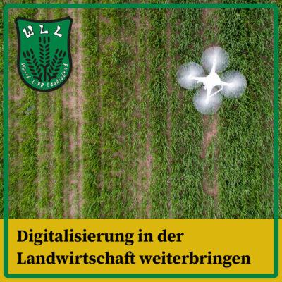Digitalisierung in der Landwirtschaft weiterbringen