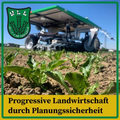 Progressive Landwirtschaft durch Planungssicherheit
