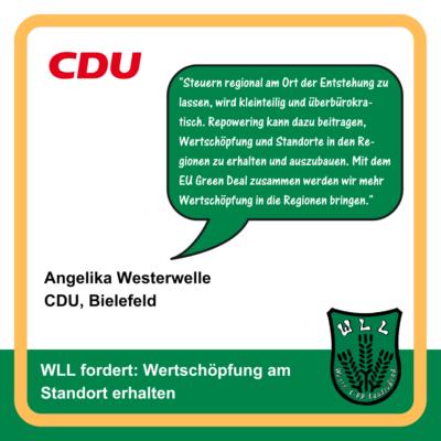 Kommentar Angelika Westerwelle