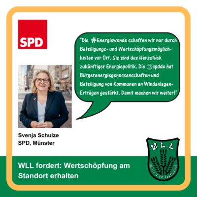 Kommentar Svenja Schulze